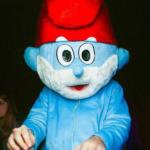 Ростовая кукла Смурфик