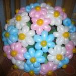 Букет из шариков-сосисок - подарок от ростовой куклы