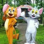 Ростовые куклы кот Том и мышонок Джерри