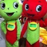 Ротовые куклы Яблоко и Вишня
