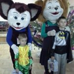 Ростовые куклы Барбоскины Лиза и Дружок