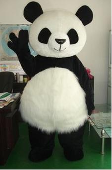 панда ростовая кукла