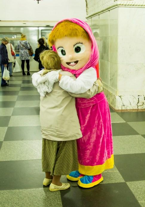 ростовая кукла Маша