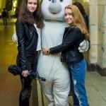 ростовая кукла белый медвежонок