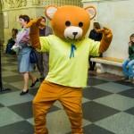 ростовая кукла медвежонок