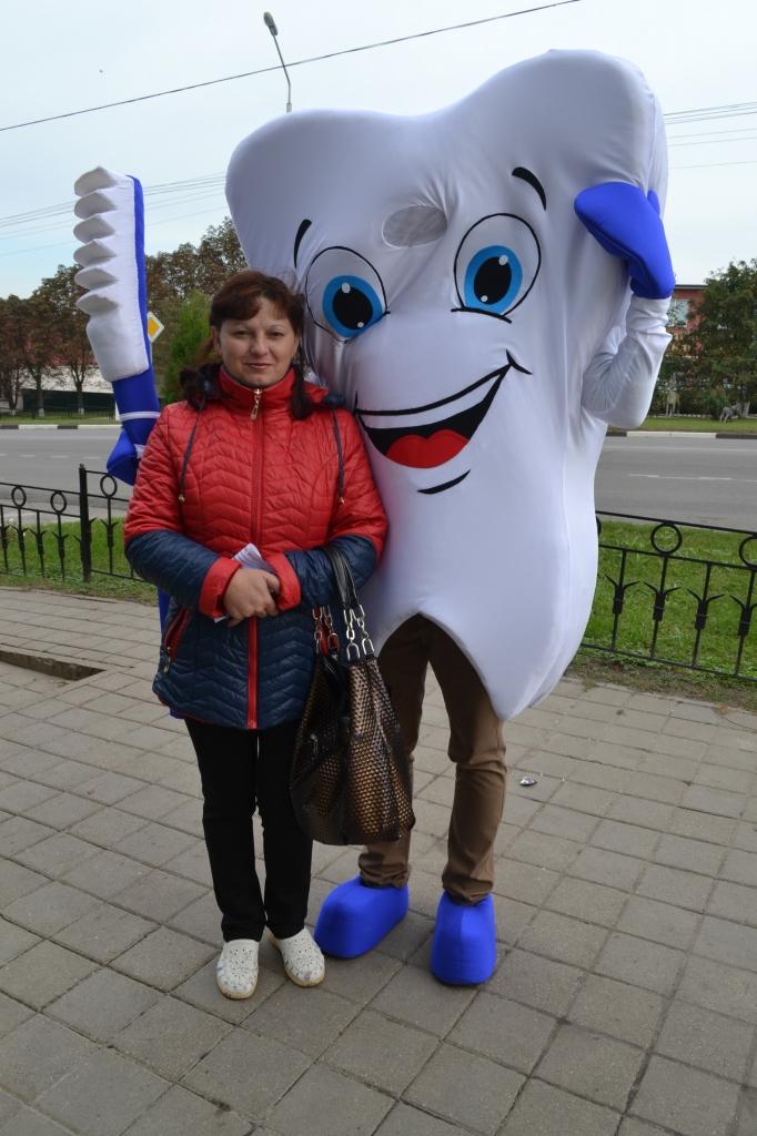 Ростовая кукла Зуб