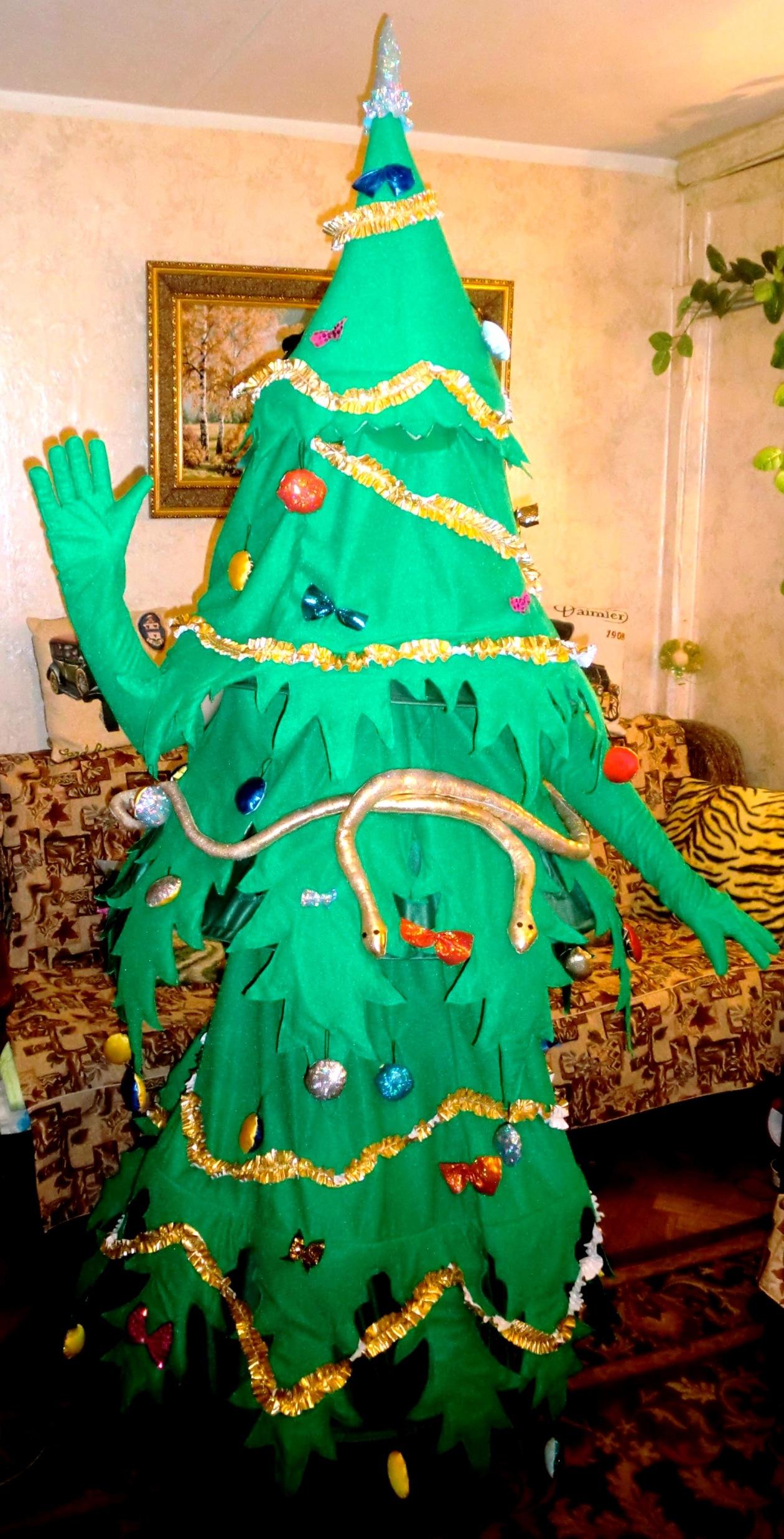 Ростовая кукла Новогодняя Елка
