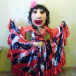 Цыганка Ростовая кукла